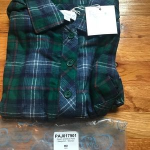 Other - Pajamagram plaid flannel nighty .  Knee length
